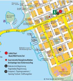 Vaasan Marssi map